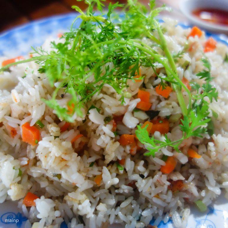 Seafood Fried Rice (Cơm Rang Hải Sản)
