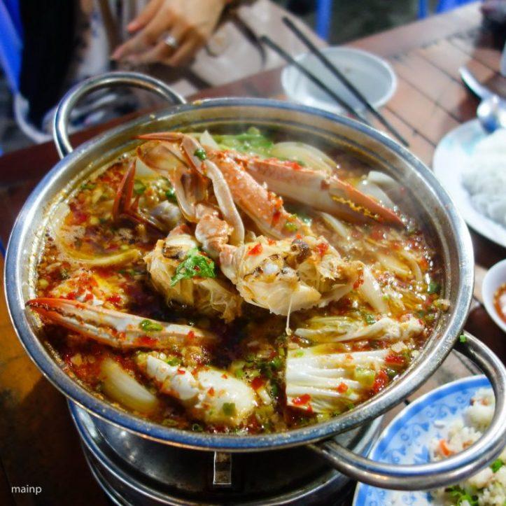 Spicy Flower Crab Hot Pot (Lẩu Ghẹ)