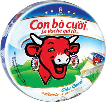Laughing Cow Cheese in Vietnam