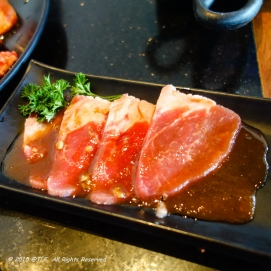 Marinated Beef with Mama Sauce