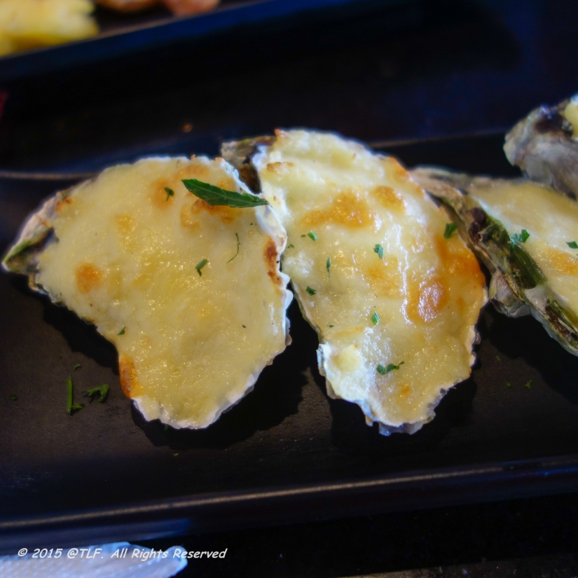 Baked Oysters with Cheese
