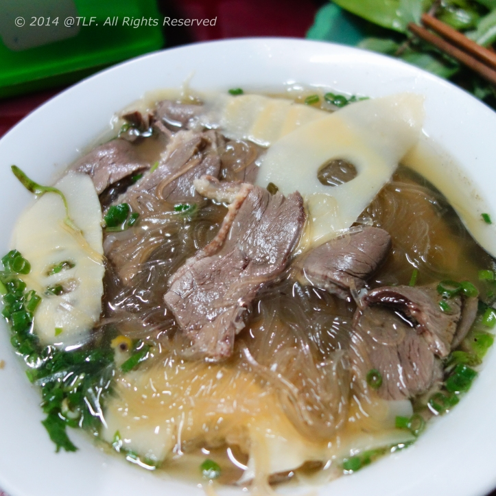 Muscovy Duck with Transparent Noodle (Mien Ngan)
