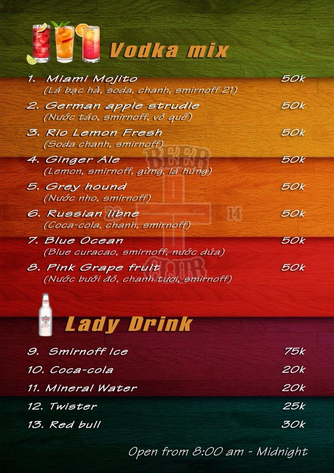 Lady Drink and Mixed Drink