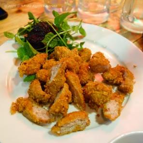 Deep Fried Fermented Pork Charcuterie (Nem chua ran)