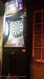 Darts and a dartboard