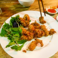 Salt Roasted Chicken Cartilage (Sun ga rang muoi)