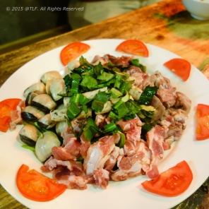 Raw food for Hot Pot