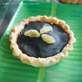 Coconut Tart with Chocolate