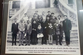 Picture with Uncle Ho (Ho Chi Minh)