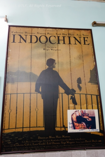 """Poster of """"Indochine"""" film, with Catherine Deneuve as main actress"""