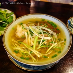 Bun bo Hue (Hue style beef rice noodle with blood cubes)