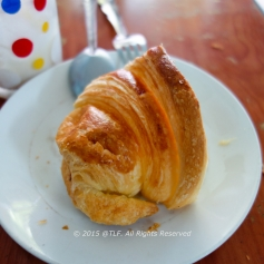 Half of the Croissant