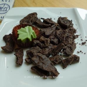 Pomelo Chocolate and Matcha White Chocolate