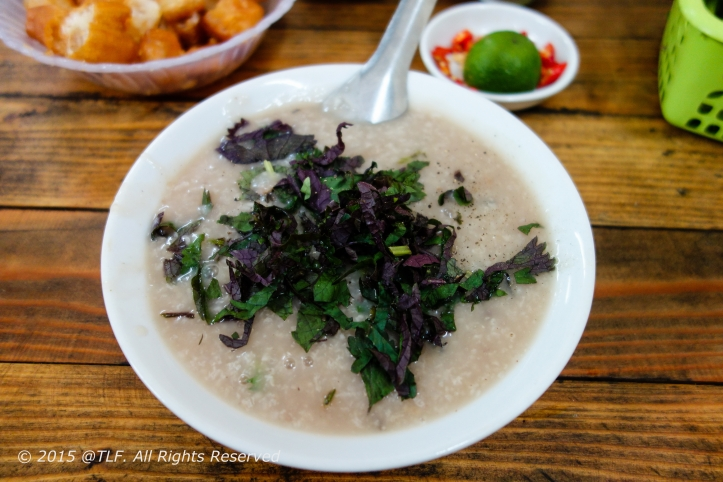 Rice Porridge (Congee)