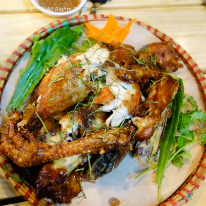 Ga Nuong Lu (Grilled Chicken in Clay Jar)