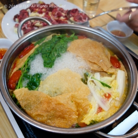 Thai style hot pot