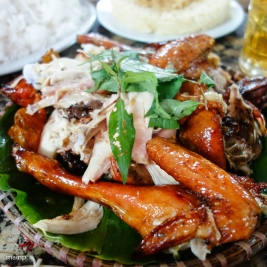 Roasted Chicken in Clay Jar (Gà Nướng Lu)