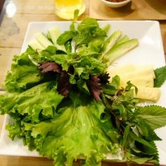 Banh Hoi Bo La Lot (Vegetables)