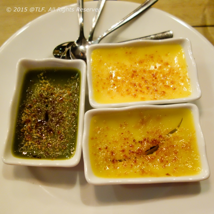 3 Flavors of Creme Brulee