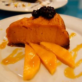 Warm Carrot Cheesecake