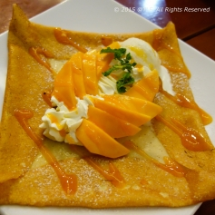 Mango Crepe