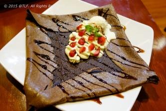 Strawberry Chocolate Base Crepe