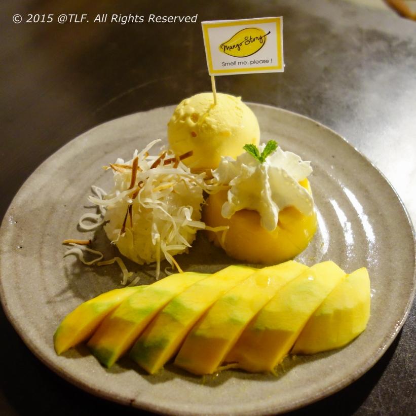 Mango Sticky Rice and Pudding