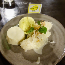 Durian Sticky Rice and Pudding