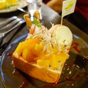 Peach Toast