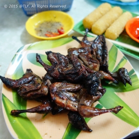 Chim nuong _ Grilled birds