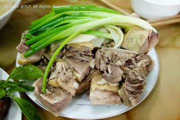 Steamed Muscovy Duck (Ngan Hap)