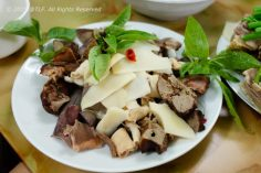 Long Ngan Luoc (Boiled Intestines)