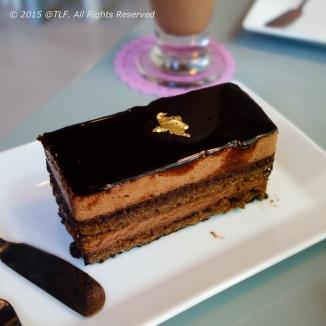 Feuillantine au Chocolat (Chocolate Feuillantine)