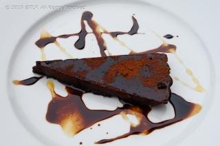 Earl Grey and Dark Chocolate Truffle Tart