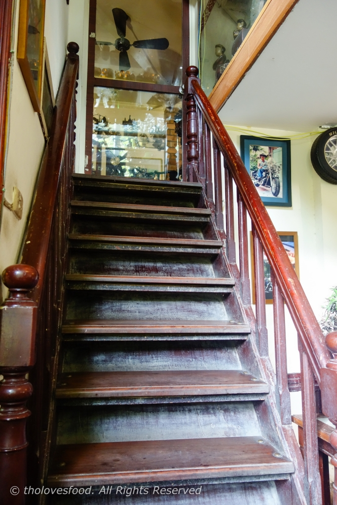 Staircase to Third Floor - Mini Museum