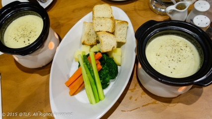 Cheese Fondue with house-made Camembert