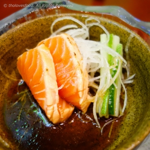 Salmon with Sweet Ponzu Sauce