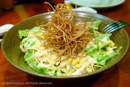 Crispy Crab Salad