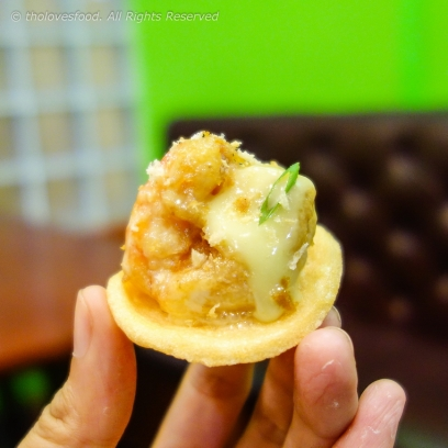 Wasabi Mayo Shrimp