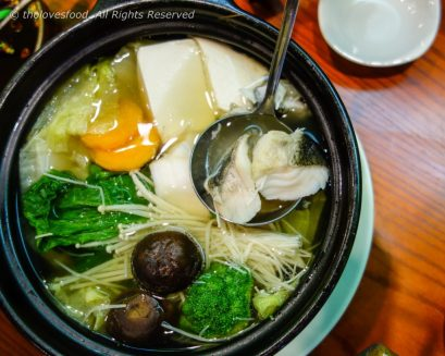 Silver Cod Fish Hot Pot