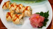 X Salmon Roll