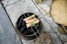 Start grilling Nem Chua