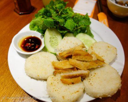 Cơm Nướng Cá Mặn (Khô Cá Dứa)