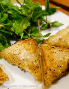 Fried Squid Spring Rolls - Chả Giò Mực