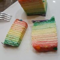 Rainbow Crepe - Crepe Cầu Vồng