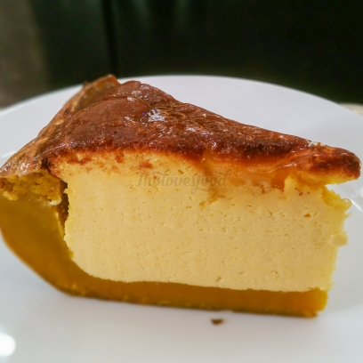 pumpkin cheese cake - bánh phô mai bí đỏ