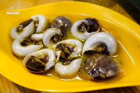 ốc mỡ - white moon sea snails